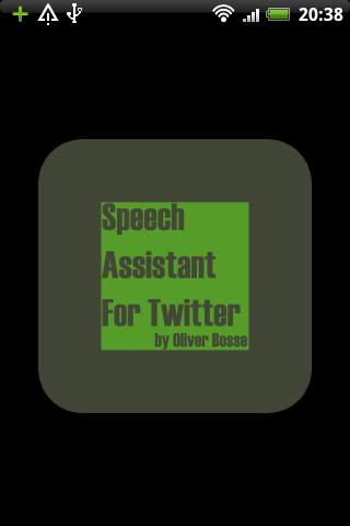 Speech Assistant For Twitter