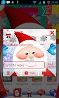 Screenshot of GO SMS Pro Santa Claus