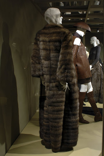 Rucci's fur coats and jackets are made with only the best quality pelts and are produced in collaboration with furrier Nick Pologerogis.