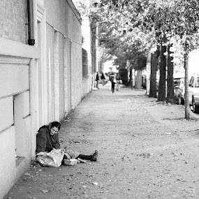 sidewalk by Pietro Lizarondo - People Street & Candids (  )