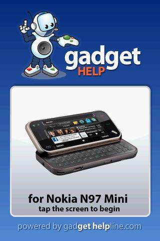 【免費書籍App】Nokia N97 Mini - Gadget Help-APP點子