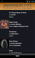 Screenshot of Hard Radio Rock Heavy Metal