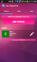 Screenshot of Car RepairPal