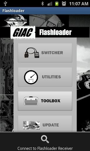 GIAC Flashloader Wireless App