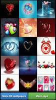 Screenshot of Love Heart HD Wallpapers