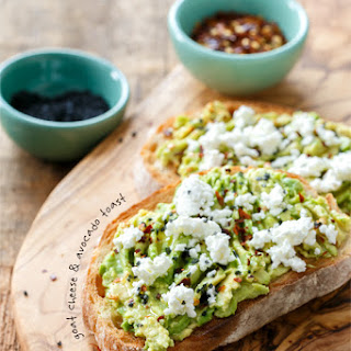 Goat Cheese & Avocado Toast