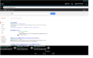 Screenshot of Little Web Browser (Free)