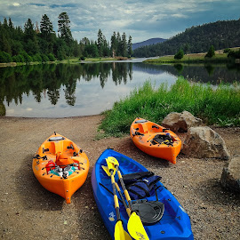 by Becca McKinnon - Sports & Fitness Watersports ( water, baumlake, lake, kaykak, paddle,  )