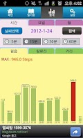 Screenshot of Online Pedometer Diet