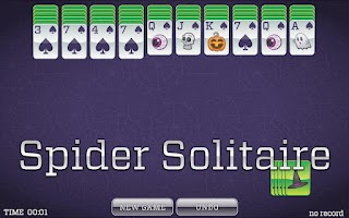 Screenshot of Halloween Solitaire
