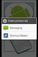Screenshot of Shortcut Maker