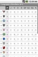 Screenshot of Campeonato Brasileiro 2012