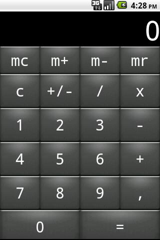 Private calculator