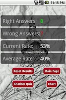 Screenshot of Kanji Quiz