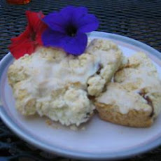 Blueberry Almond Scones