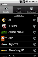 Screenshot of TV Turk