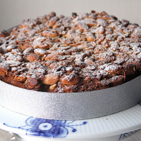"Christmas ""Fruitcake"" with Dried Apricots and Almonds"