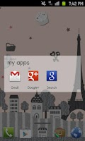Screenshot of Paris Theme