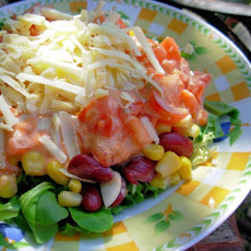 Low Fat Southwestern Layered Salad