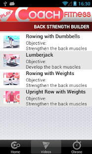 PlayCoach™ Dumbbell Workouts - screenshot