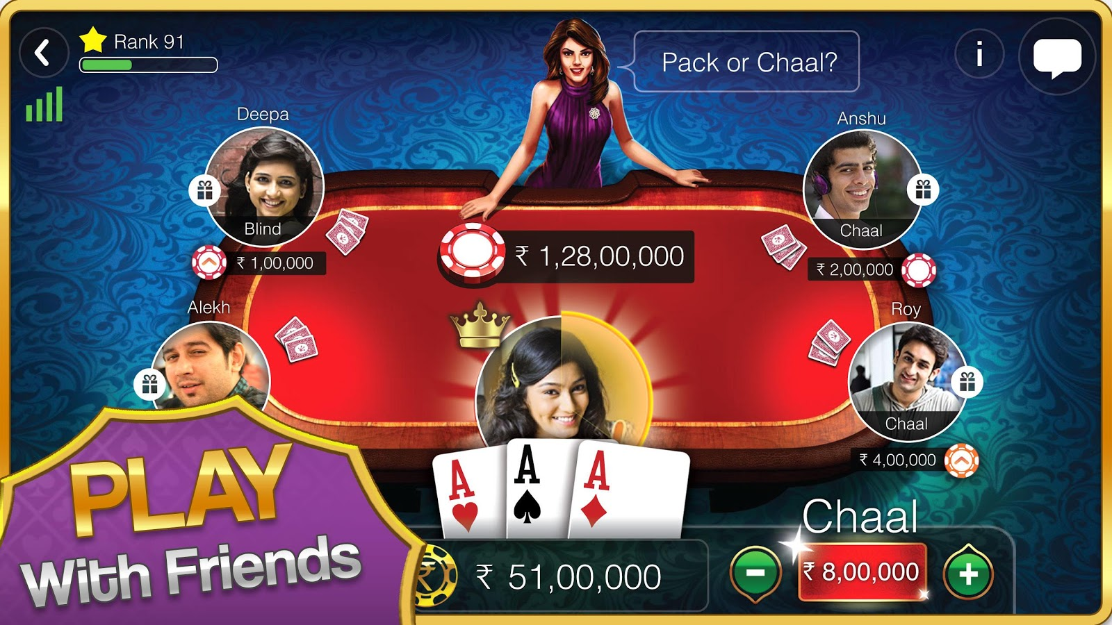 Teen Patti Gold Screenshot 8