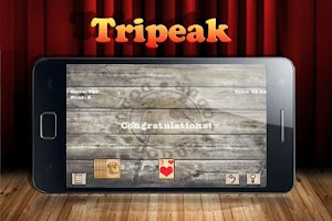 Screenshot of TriPeaks Solitaire Free