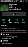 Screenshot of Cricket 411