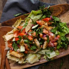 Panzanellas Salad with Herbes de Provence