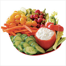 Savory Crab Dip with Crudité