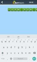 Screenshot of 10FastFingers Typing App