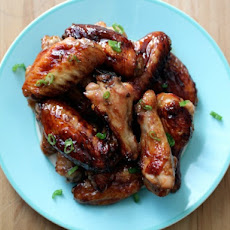 Sweet and Spicy Ginger Wings