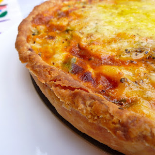 Prawn Quiche with Coconut Milk