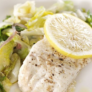 Cod with Escarole and Lemon