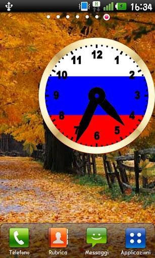 Russian clock