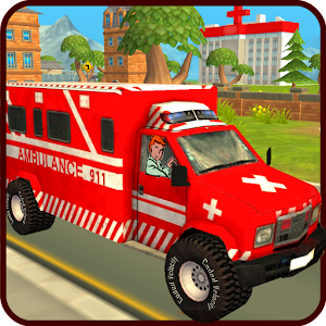 Ambulance Race Rescue 3D Sim
