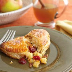 Honeycrisp Apple, Cheddar and Cranberry Turnovers