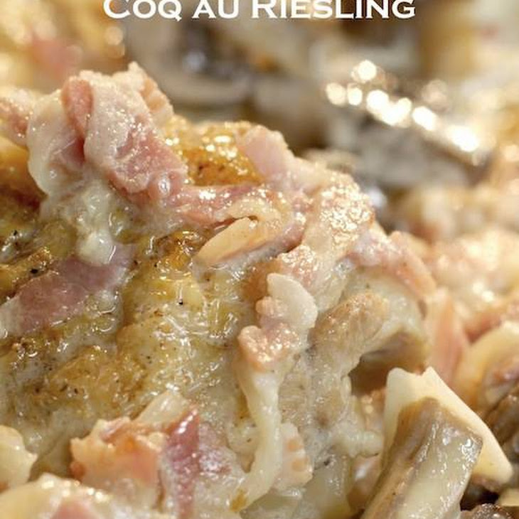 Chicken Braised With Bacon, Onions And Riesling Recipes — Dishmaps
