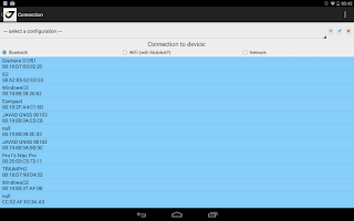 Screenshot of JAVAD Mobile Tools