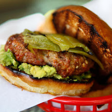Pork and Chorizo Chile Burger Recipe