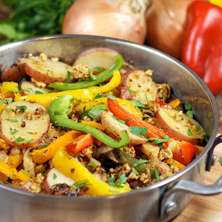 30-Minute Italian Sausage, Pepper and Potato Skillet