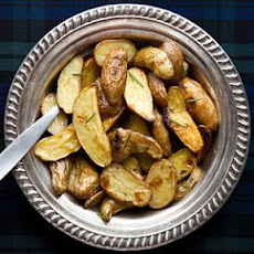 Country Style Rosemary Garlic Potatoes