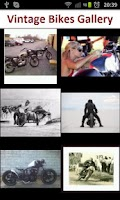Screenshot of Vintage Bikes Gallery