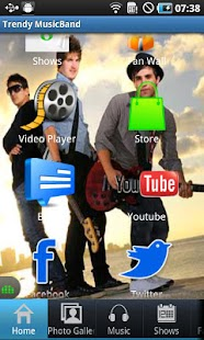Trendy MusicBand - screenshot