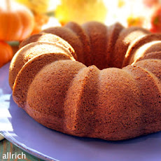 Honey Pumpkin Bundt Cake