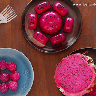 Dragon Fruit Agar Agar