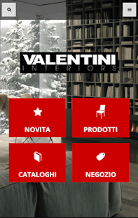 Valentini Interiors - screenshot