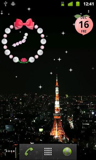 Shining stars live wallpaper