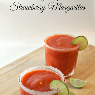 Key Lime Strawberry Margaritas