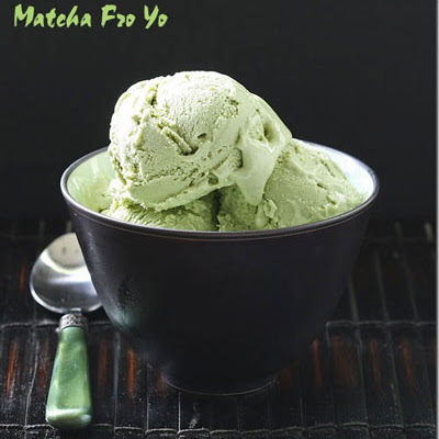 Matcha Frozen Yogurt