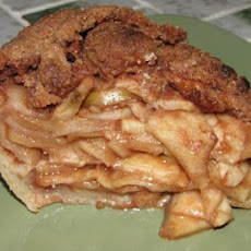 Cinnamon Crumble-Top Apple Pie